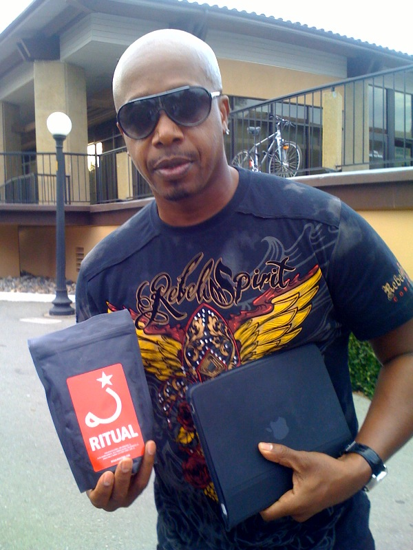 MC Hammer and his Ritual Coffee